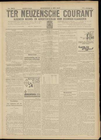 Ter Neuzensche Courant. Algemeen Nieuws- en Advertentieblad voor Zeeuwsch-Vlaanderen / Neuzensche Courant ... (idem) / (Algemeen) nieuws en advertentieblad voor Zeeuwsch-Vlaanderen 1937-05-05
