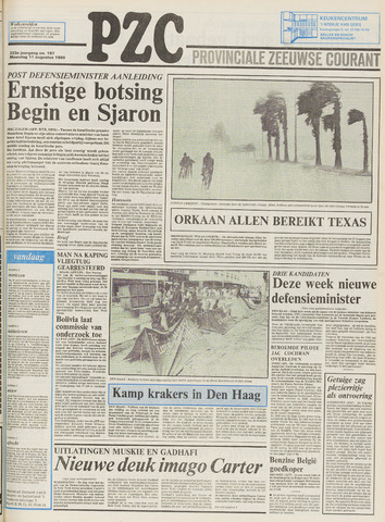 Provinciale Zeeuwse Courant 1980-08-11