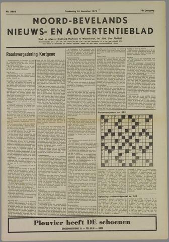 Noord-Bevelands Nieuws- en advertentieblad 1973-12-20