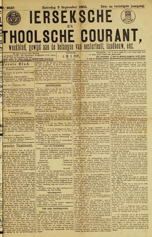 Ierseksche en Thoolsche Courant 1905-09-02