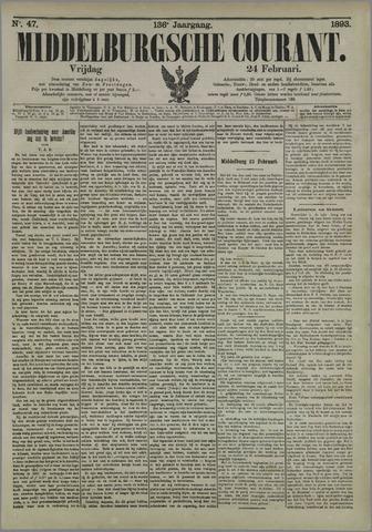 Middelburgsche Courant 1893-02-24