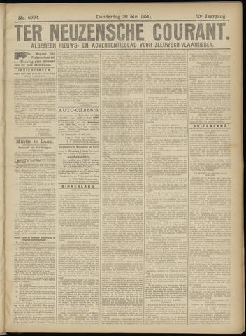 Ter Neuzensche Courant. Algemeen Nieuws- en Advertentieblad voor Zeeuwsch-Vlaanderen / Neuzensche Courant ... (idem) / (Algemeen) nieuws en advertentieblad voor Zeeuwsch-Vlaanderen 1920-05-20