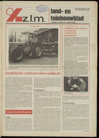 Zeeuwsch landbouwblad ... ZLM land- en tuinbouwblad 1982-03-19