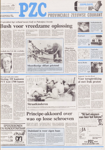 Provinciale Zeeuwse Courant 1990-10-02