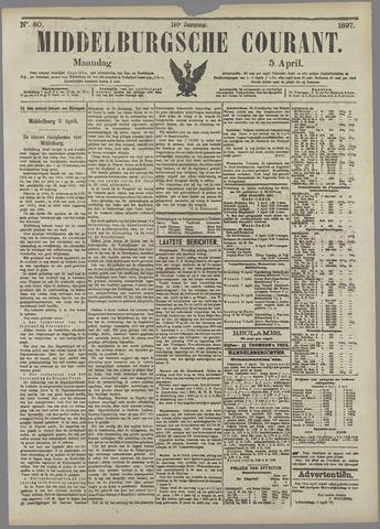 Middelburgsche Courant 1897-04-05
