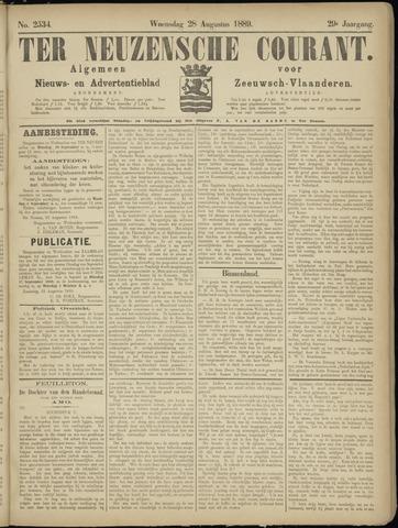 Ter Neuzensche Courant. Algemeen Nieuws- en Advertentieblad voor Zeeuwsch-Vlaanderen / Neuzensche Courant ... (idem) / (Algemeen) nieuws en advertentieblad voor Zeeuwsch-Vlaanderen 1889-08-28