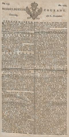 Middelburgsche Courant 1779-11-06