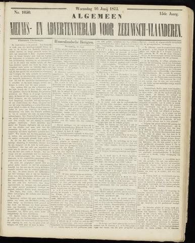 Ter Neuzensche Courant. Algemeen Nieuws- en Advertentieblad voor Zeeuwsch-Vlaanderen / Neuzensche Courant ... (idem) / (Algemeen) nieuws en advertentieblad voor Zeeuwsch-Vlaanderen 1875-06-16