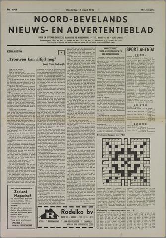 Noord-Bevelands Nieuws- en advertentieblad 1982-03-18