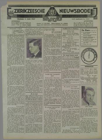 Zierikzeesche Nieuwsbode 1937-06-11