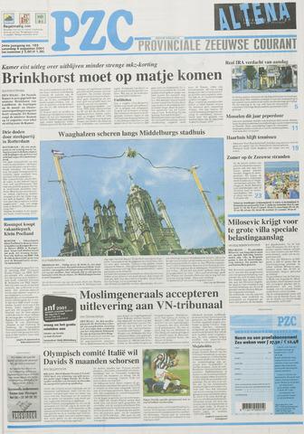 Provinciale Zeeuwse Courant 2001-08-04