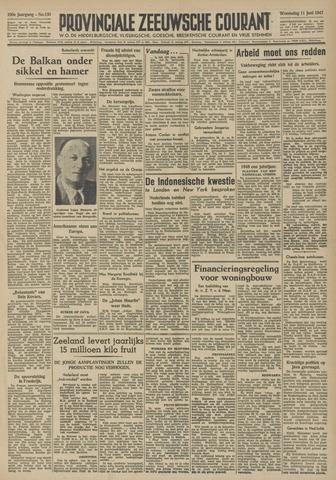 Provinciale Zeeuwse Courant 1947-06-11