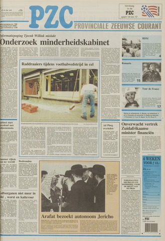 Provinciale Zeeuwse Courant 1994-07-06