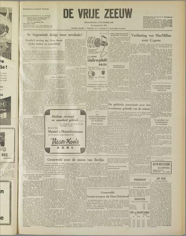 de Vrije Zeeuw 1958-11-13