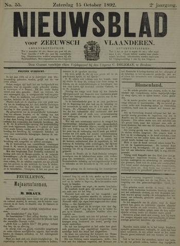 Nieuwsblad voor Zeeuwsch-Vlaanderen 1892-10-15