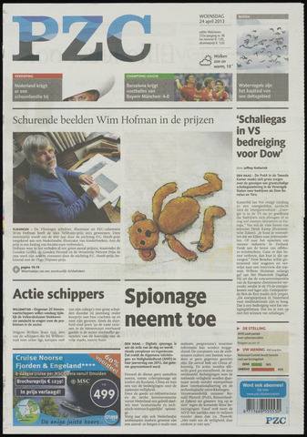 Provinciale Zeeuwse Courant 2013-04-24