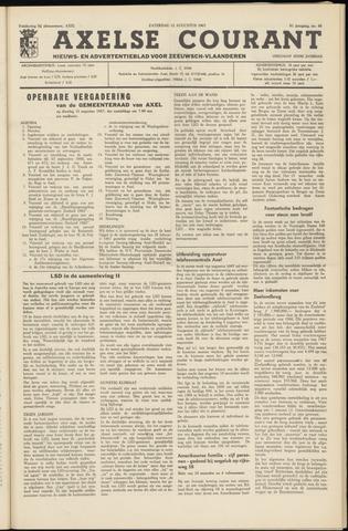 Axelsche Courant 1967-08-12