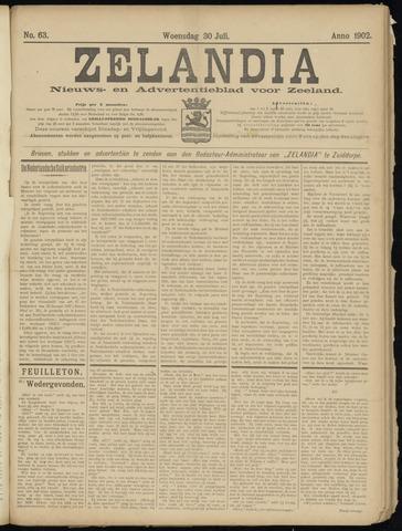 Zelandia. Nieuws-en advertentieblad voor Zeeland | edities: Het Land van Hulst en De Vier Ambachten 1902-07-30
