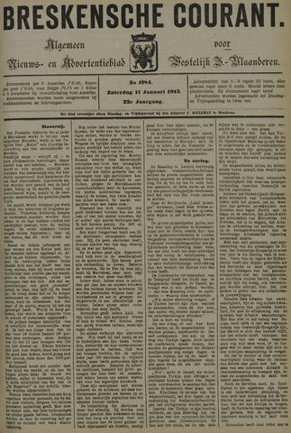 Breskensche Courant 1913-01-11
