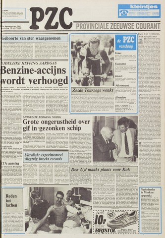 Provinciale Zeeuwse Courant 1986-07-16