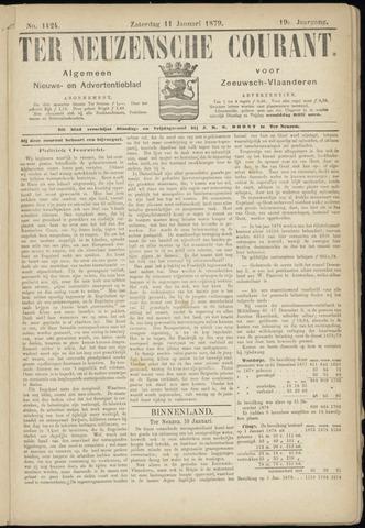 Ter Neuzensche Courant. Algemeen Nieuws- en Advertentieblad voor Zeeuwsch-Vlaanderen / Neuzensche Courant ... (idem) / (Algemeen) nieuws en advertentieblad voor Zeeuwsch-Vlaanderen 1879-01-11