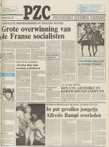 Provinciale Zeeuwse Courant 1981-06-15