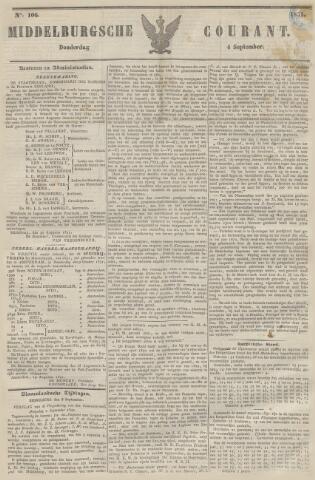 Middelburgsche Courant 1851-09-04