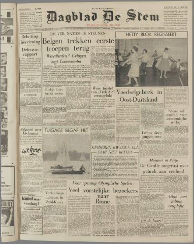 de Stem 1960-07-30