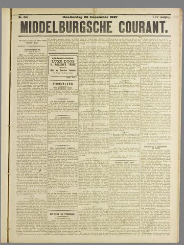 Middelburgsche Courant 1927-12-22