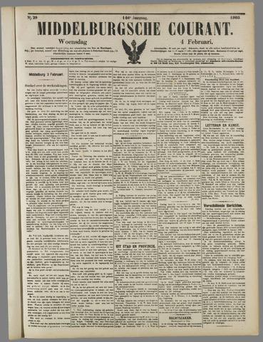 Middelburgsche Courant 1903-02-04