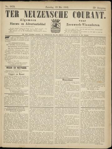 Ter Neuzensche Courant. Algemeen Nieuws- en Advertentieblad voor Zeeuwsch-Vlaanderen / Neuzensche Courant ... (idem) / (Algemeen) nieuws en advertentieblad voor Zeeuwsch-Vlaanderen 1883-05-19