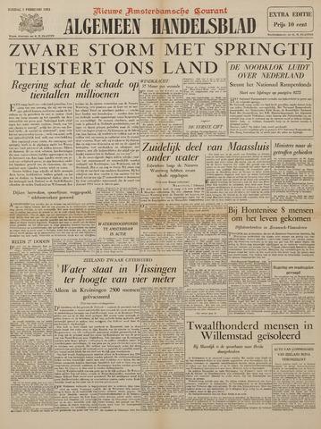 Watersnood documentatie 1953 - kranten 1953-02-01