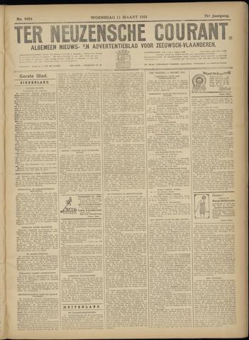 Ter Neuzensche Courant. Algemeen Nieuws- en Advertentieblad voor Zeeuwsch-Vlaanderen / Neuzensche Courant ... (idem) / (Algemeen) nieuws en advertentieblad voor Zeeuwsch-Vlaanderen 1931-03-11