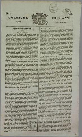 Goessche Courant 1840