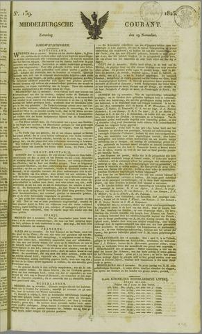 Middelburgsche Courant 1825-11-19