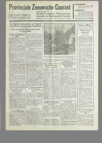 Provinciale Zeeuwse Courant 1940-08-15
