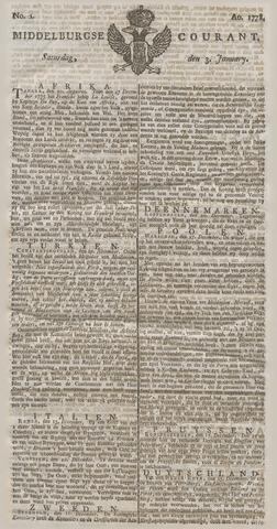 Middelburgsche Courant 1778-01-03