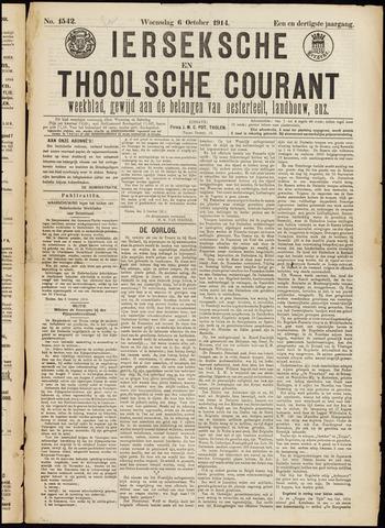 Ierseksche en Thoolsche Courant 1914-10-06