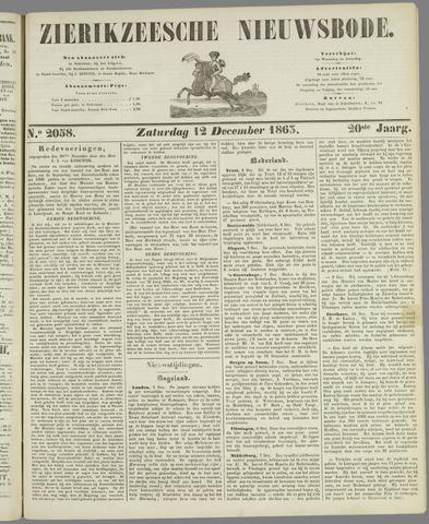Zierikzeesche Nieuwsbode 1863-12-12