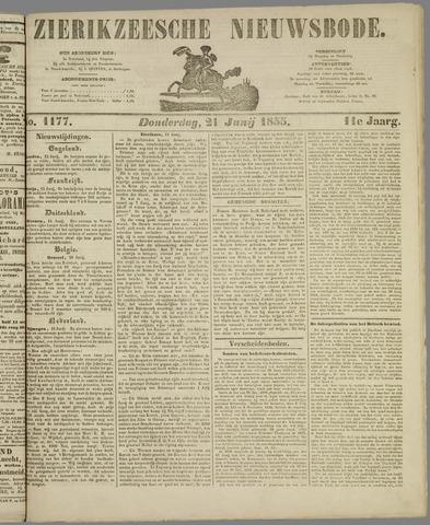 Zierikzeesche Nieuwsbode 1855-06-21