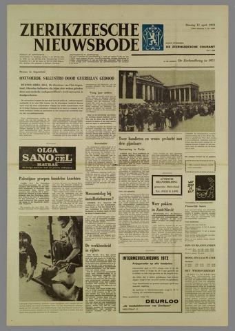 Zierikzeesche Nieuwsbode 1972-04-11