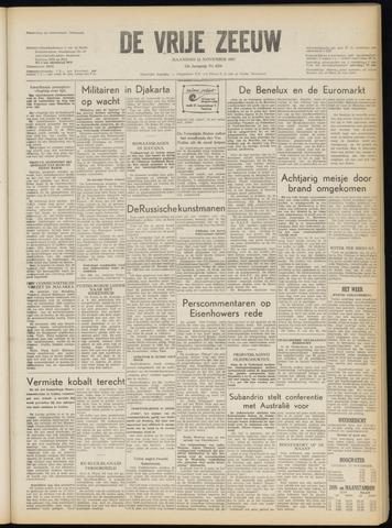 de Vrije Zeeuw 1957-11-11