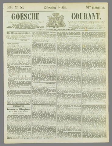 Goessche Courant 1894-05-05