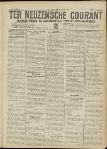Ter Neuzensche Courant. Algemeen Nieuws- en Advertentieblad voor Zeeuwsch-Vlaanderen / Neuzensche Courant ... (idem) / (Algemeen) nieuws en advertentieblad voor Zeeuwsch-Vlaanderen 1942-07-24
