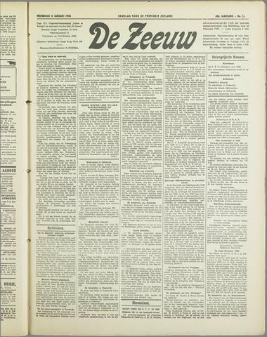 De Zeeuw. Christelijk-historisch nieuwsblad voor Zeeland 1934-01-03