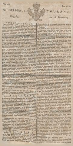 Middelburgsche Courant 1779-09-28
