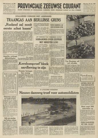 Provinciale Zeeuwse Courant 1961-10-30