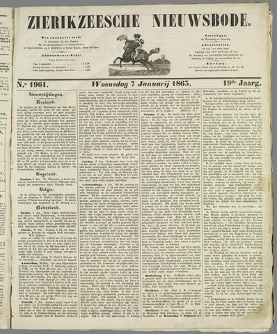Zierikzeesche Nieuwsbode 1863-01-07