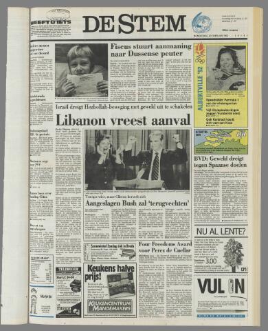 de Stem 1992-02-20