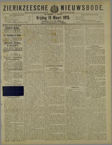 Zierikzeesche Nieuwsbode 1915-03-19